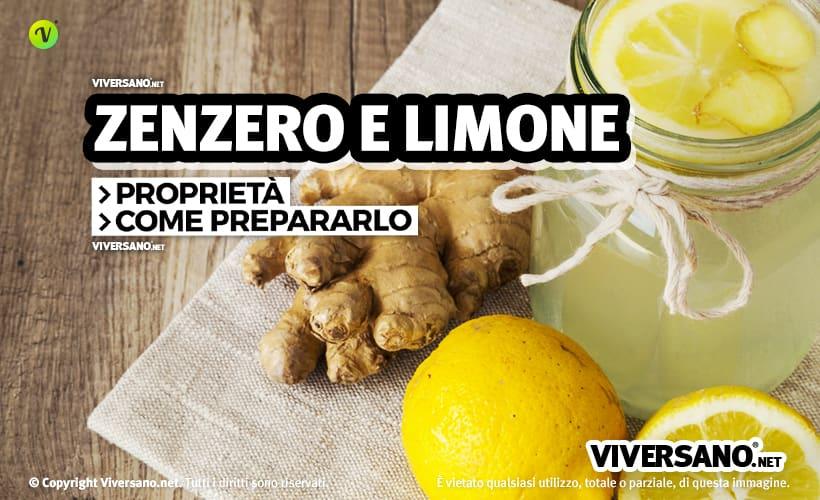 perdita di peso zenzero zenzero limone