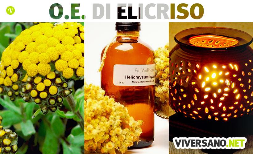 Olio essenziale di elicriso: proprietà e utilizzi