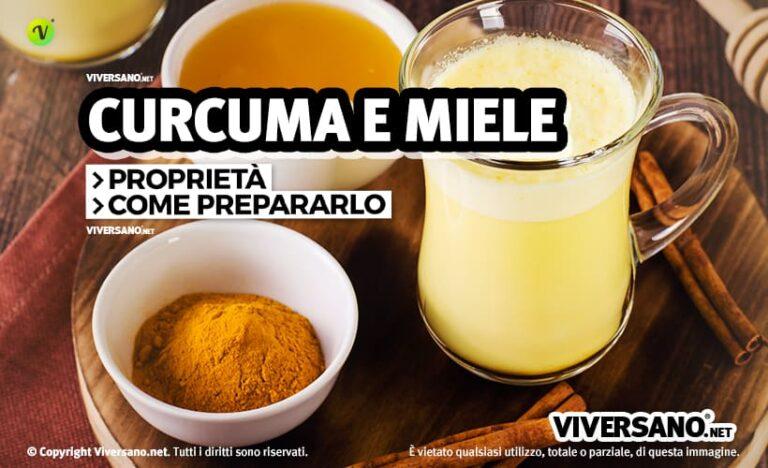 Miele e Curcuma: 5 ricette e le proprietà