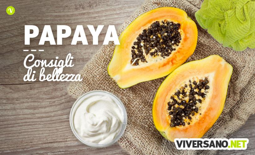 Papaya: le proprietà cosmetiche e 6 trattamenti fai da te per pelle e capelli