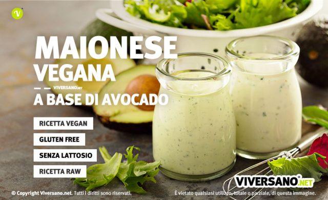 Ricetta maionese vegan con avocado