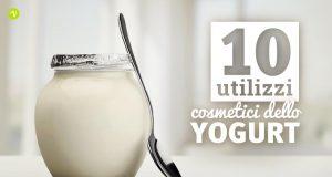 10 utilizzi dello yogurt per la cura di pelle e capelli
