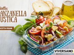 Panzanella rustica con pane integrale: ricetta veloce e sana
