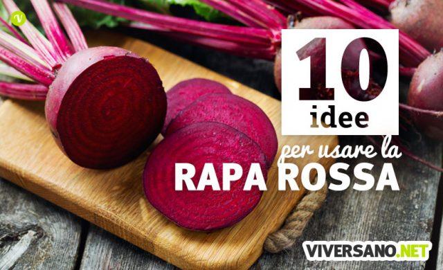 10 idee per usare la rapa rossa nelle ricette