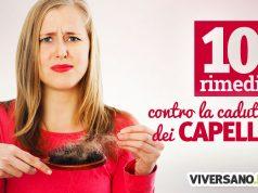 10 trattamenti contro la caduta dei capelli