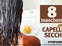 8 maschere per capelli secchi fai da te