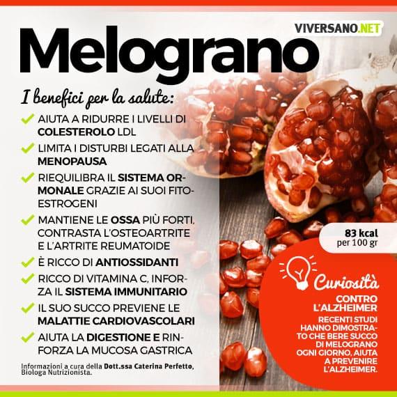 Scarica: Le proprietà del melograno