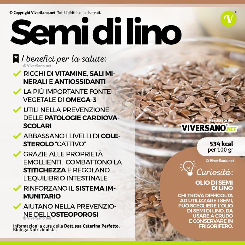 la farina di semi di lino serve per perdere peso