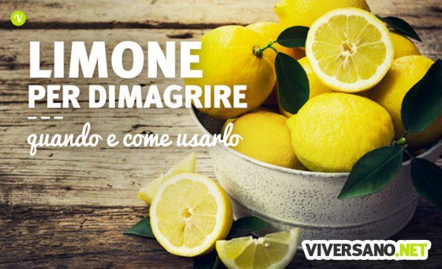 Limone per dimagrire: come e perché il limone fa dimagrire