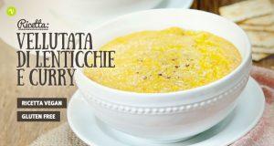 Crema delicata di lenticchie e curry