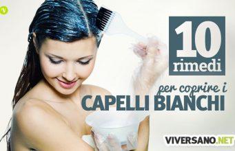 10 rimedi naturali per coprire i capelli bianchi