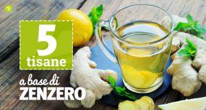 Tisana allo zenzero: benefici e 5 ricette