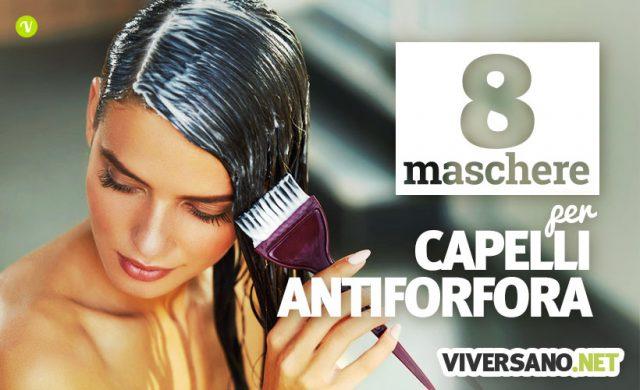 8 maschere per i capelli fai da te contro la forfora