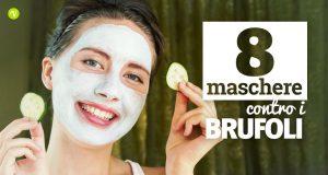 8 maschere contro i brufoli sul viso