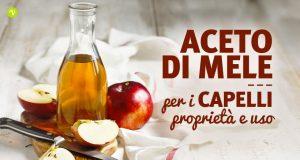 Aceto di mele per capelli: proprietà e usi