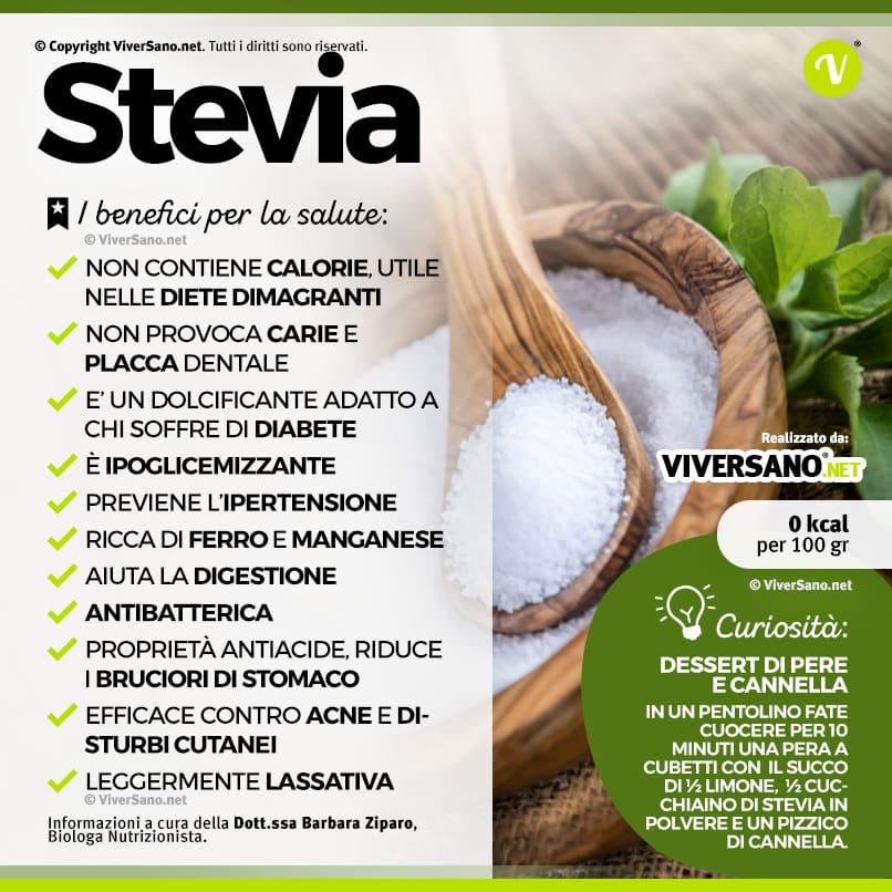 Scarica: Le proprietà della stevia