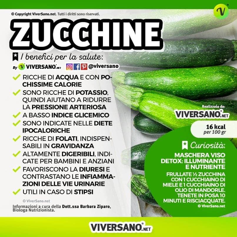 Scarica: Le proprietà delle zucchine