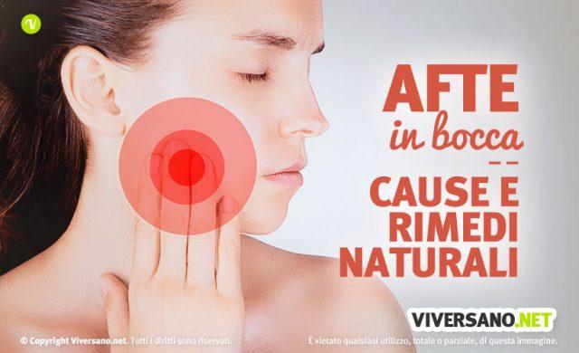 Afte in bocca: cause, sintomi e rimedi naturali