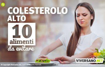 10 alimenti da evitare con il colesterolo alto