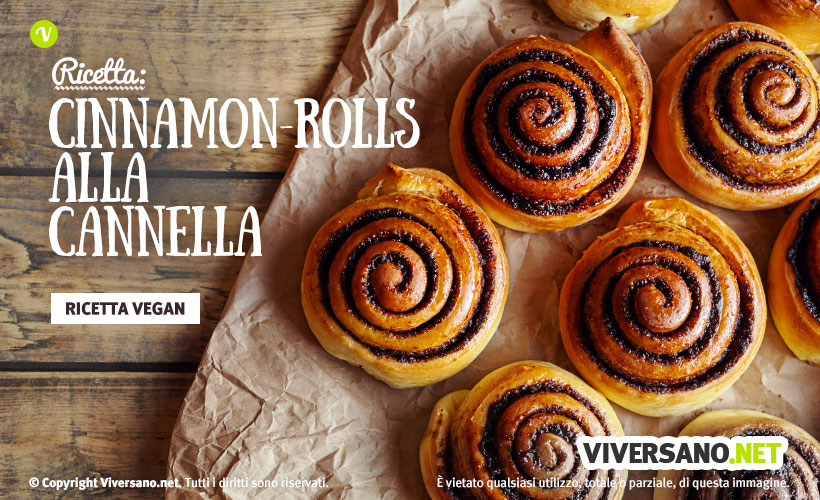 Cinnamon rolls: ricetta vegana