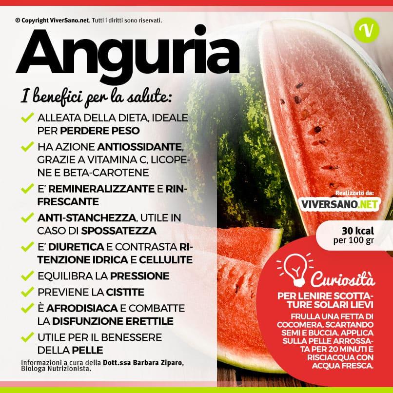 Scarica: Le proprietà dell'anguria