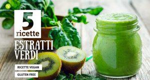 Succhi verdi: 5 ricette con estrattore