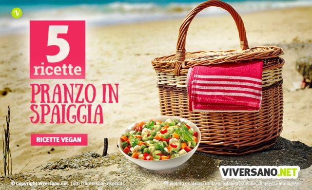5 ricette per mangiare vegan anche in spiaggia