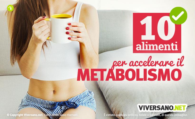 Copertina dell'articolo - 10 alimenti per attivare il metabolismo