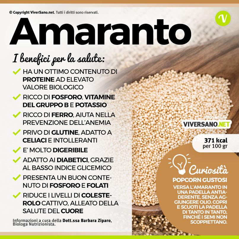 Scarica: Le proprietà dell'Amaranto