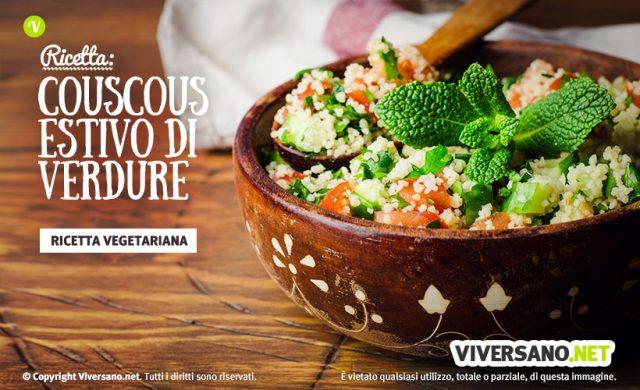 Cous cous vegetariano con feta e pomodorini: ricetta
