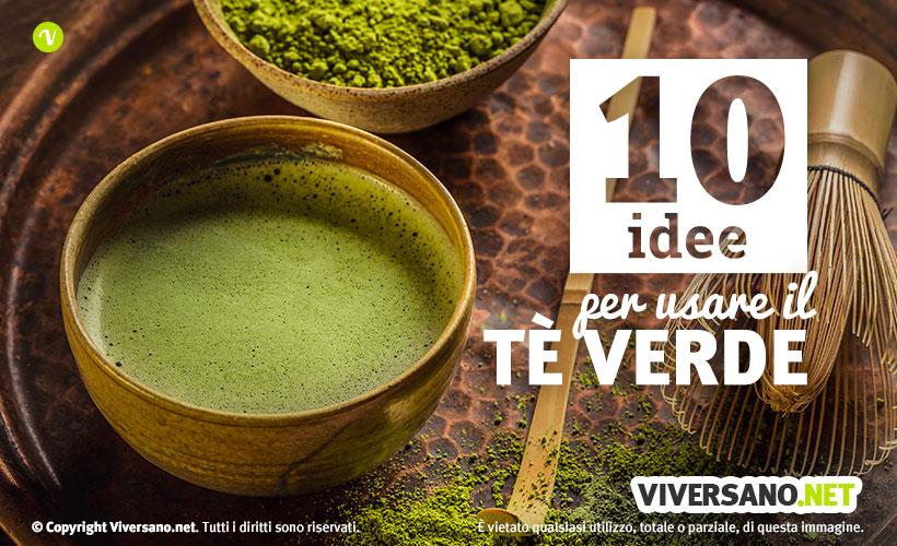 10 utilizzi del te verde in cucina