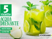 5 ricette di acque aromatizzate drenanti