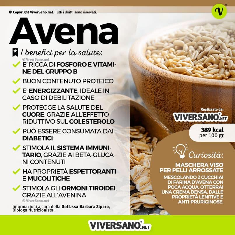 Avena Propriet 224 E Usi Di Un Cereale Ancora Poco Diffuso