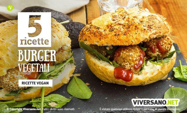 5 ricette per fare hamburger vegani