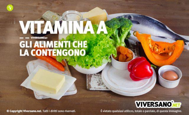 Vitamina a: dove si trova negli alimenti