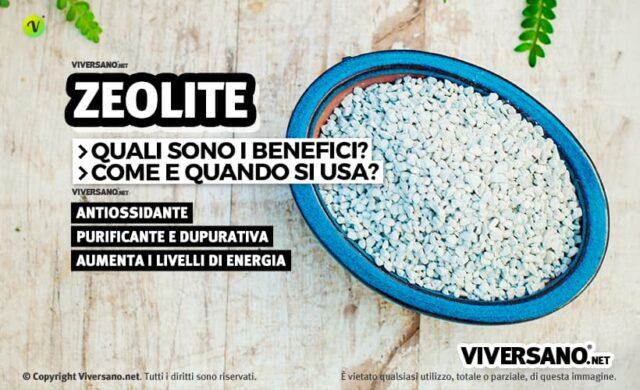 Zeolite: proprietà, benfici, acquisto e controindicazioni
