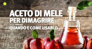 Come usare l'aceto di mele per dimagrire
