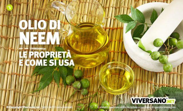 Olio di neem proprieta e usi