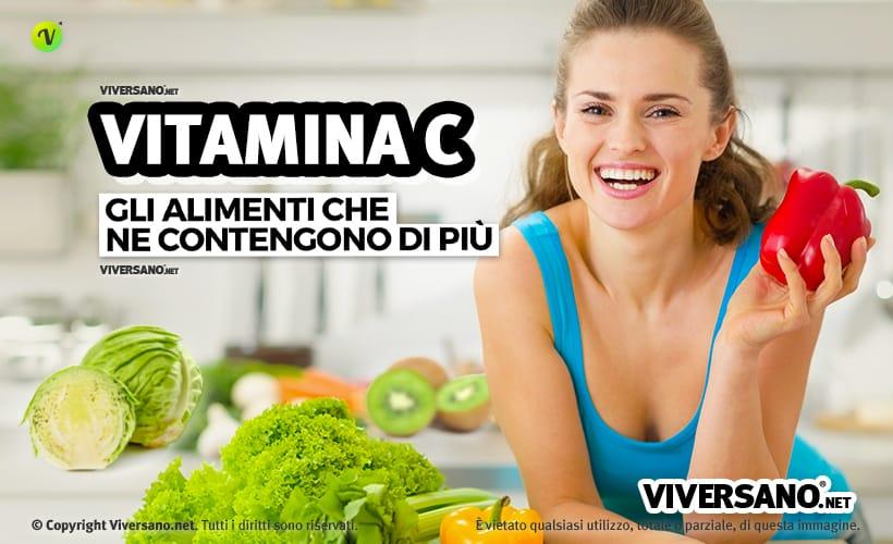 Copertina dell'articolo - Vitamina C negli alimenti