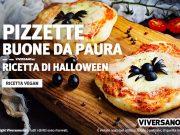 Ricetta delle pizzette vegane per festa di haloween
