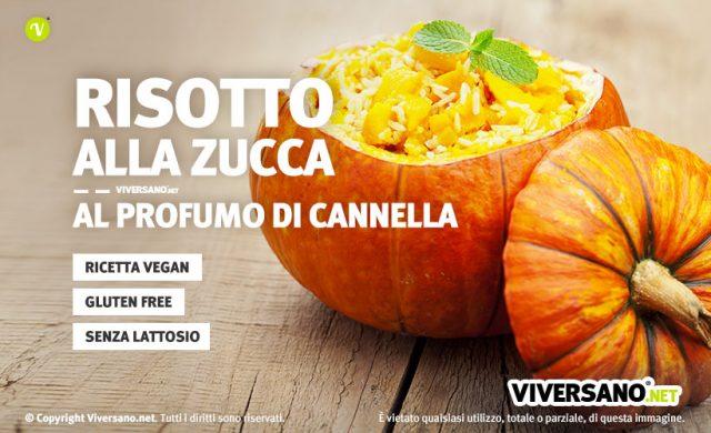 Ricetta: Risotto di zucca vegan con cannella e paprika