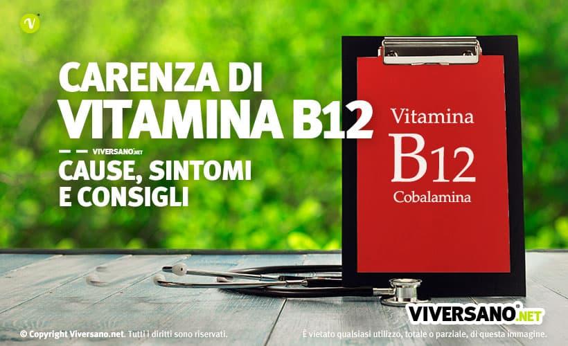 Copertina dell'articolo - Carenza di vitamina B12