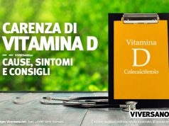 Carenza di Vitamina D cause e sintomi