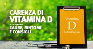 Copertina dell'articolo - carenza di Vitamina D