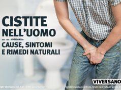 Cistite uomo cause sintomi e rimedi naturali