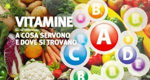 Vitamine a cosa servono e dove si trovano
