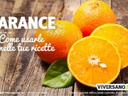 Arance uso in cucina