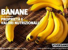 Banane proprieta calorie e valori nutrizionali