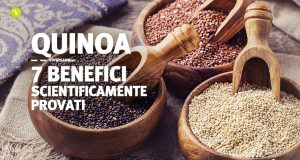 Quinoa sette benefici scientificamente provati