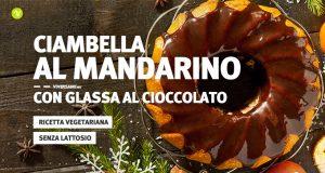 Ricetta della ciambella al mandarino con glassa di cioccolato